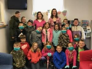 2nd gr trip to Elkton Family Dentistry