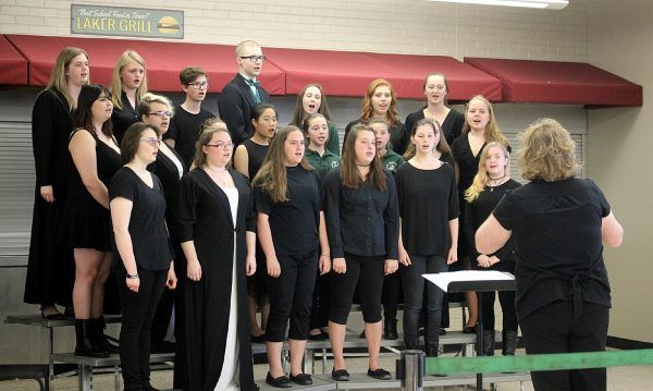 Fine Arts Night choir