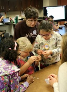 STEM girls workshop