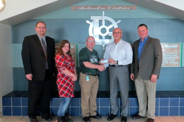 Laker FIRST Robotics receives donation