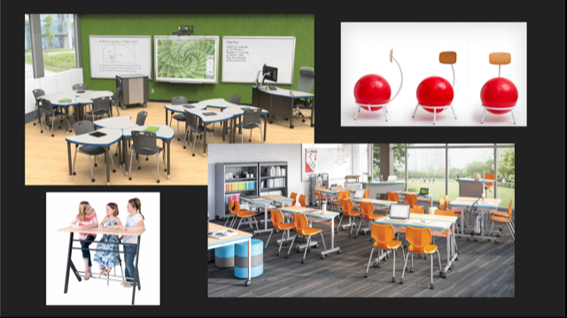 classroom improvements proposed