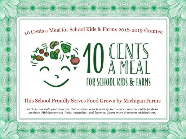 10 cents a meal for school kids