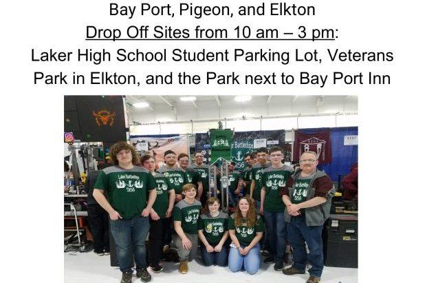 robotics team fundraiser