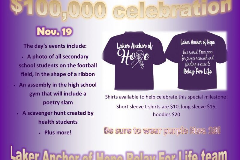 100,000 celebration