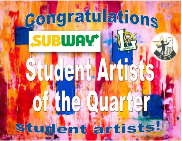 artist of the quarter