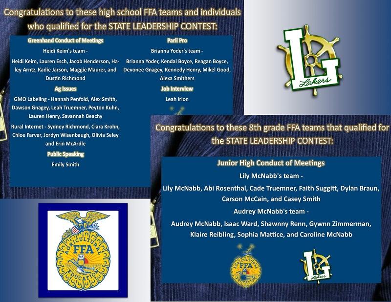 FFA contest info